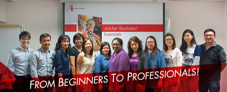 Adobe Illustrator Training Course at Acadia Training